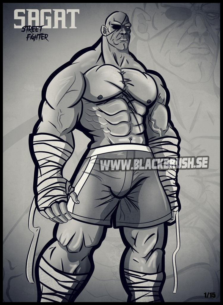 Sagat blackbrush